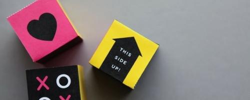 geschenke zum valentinstag basteln papierboxen