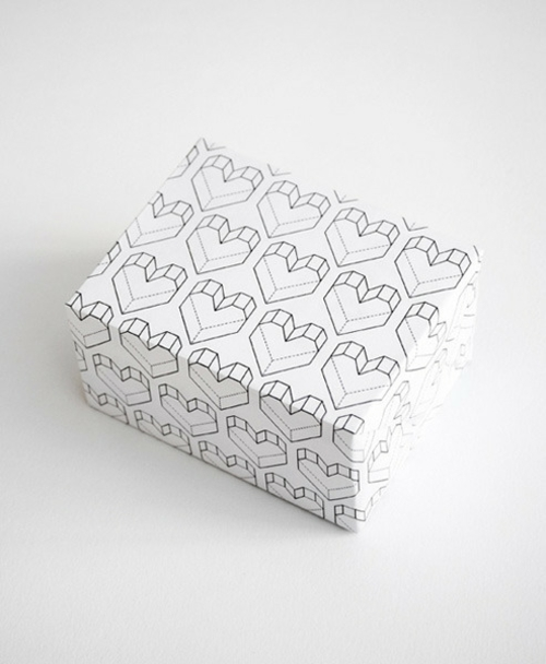 geschenke zum valentinstag basteln verpackung herzen
