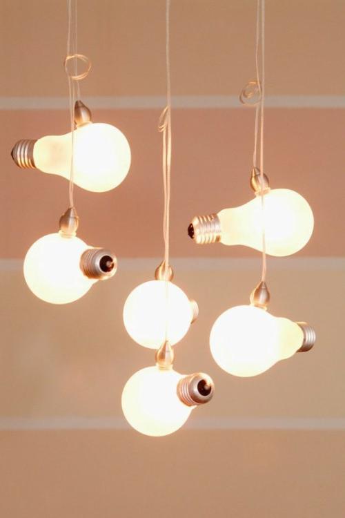 glühbirnen einordnen idee pendelleuchten do it yourself