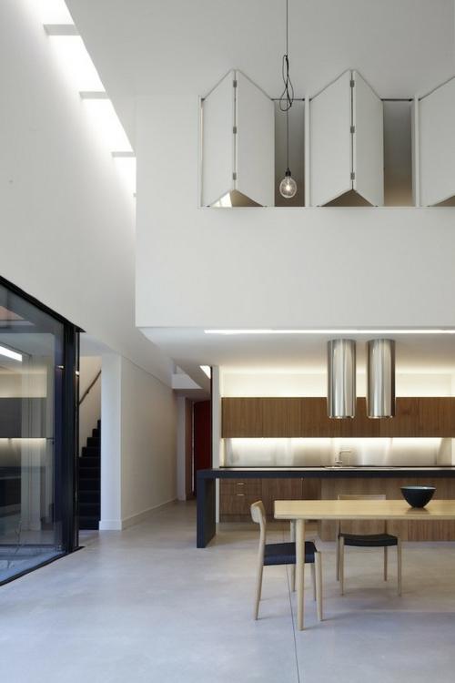 glühbirnen lampen klapptüren schrank einrichtung küche