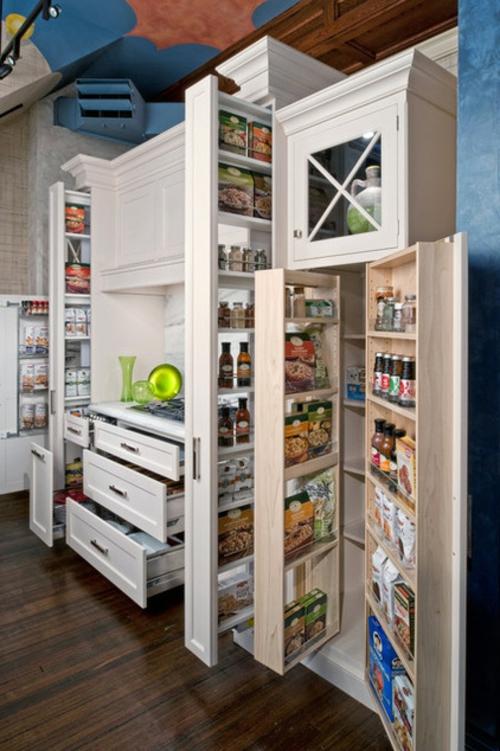 gutes Küchendesign einrichten kühlschrank holz möbel