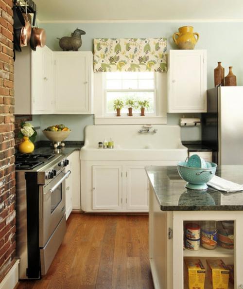 gutes Küchendesign einrichten traditionell kompakt klein arbeitsfläche spüle