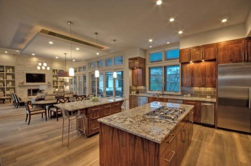 gutes Küchendesign traditionell holz marmor küchenarbeitsfläche
