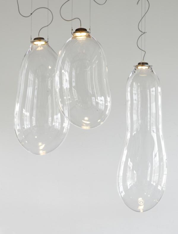 hänge lampen blasen design durchsichtig