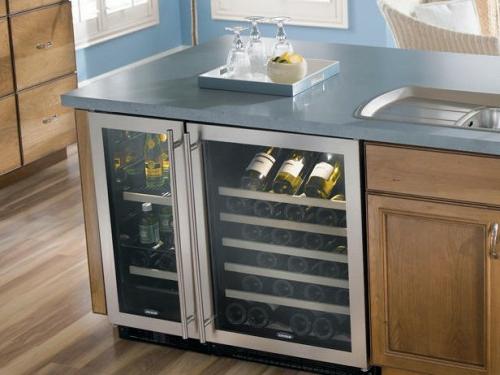 küchen mit kühlregal