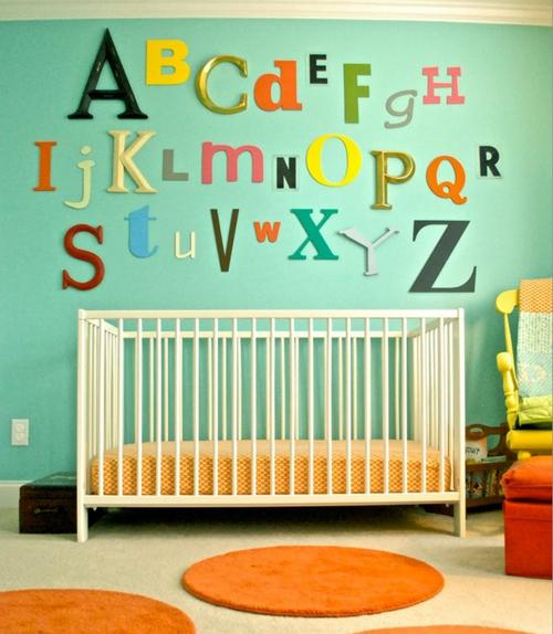 Kinder Tapeten Zum Bemalen : Kinderzimmer Gestalten Wand Pictures to pin on Pinterest