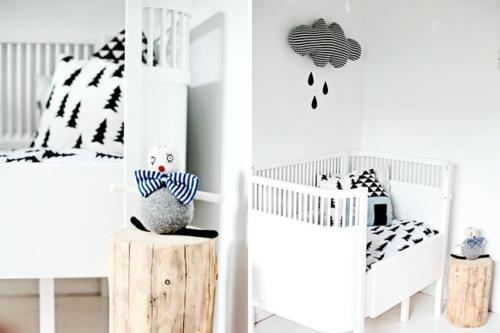 Moderne Einrichtung im Babyzimmer