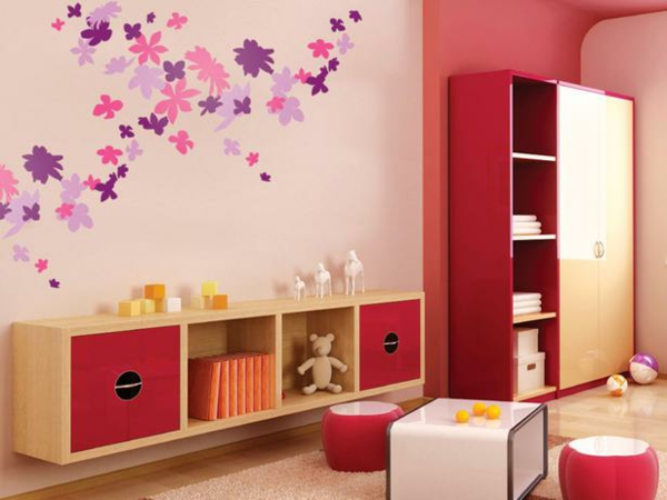 kinderzimmer wandtattoo 25 wundervolle wandsticker f r ihre wanddeko. Black Bedroom Furniture Sets. Home Design Ideas