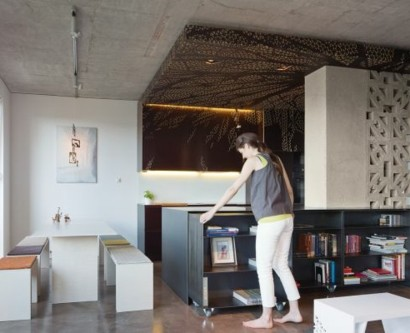 Platzsparende, klappbare Möbel für die kleine Wohnung