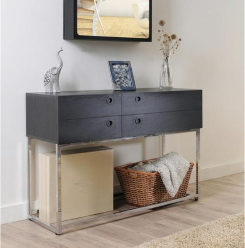konsolentisch f r den eingangsbereich 20 stilvolle m belideen. Black Bedroom Furniture Sets. Home Design Ideas