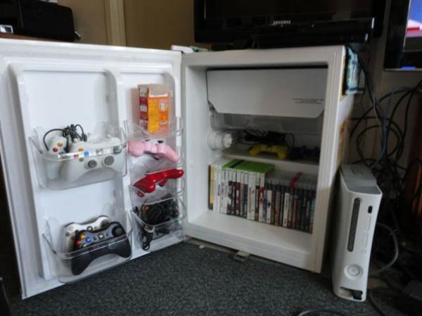 kreative bastelideen kühlschrank als schrank