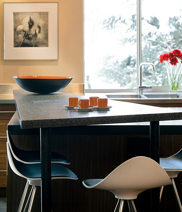kurven onda barhocker tisch oberfläche küche