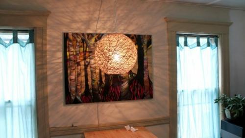 lampenschirm basteln wie sie aus hanf eine pendelleuchte schaffen. Black Bedroom Furniture Sets. Home Design Ideas