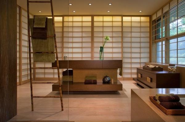 50 wohnideen f r leiterregal und dekoartikel - Case giapponesi moderne ...