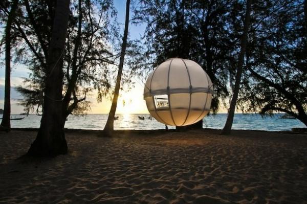luxus zelt am strand