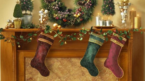 advent weihnachtssocken anhängen