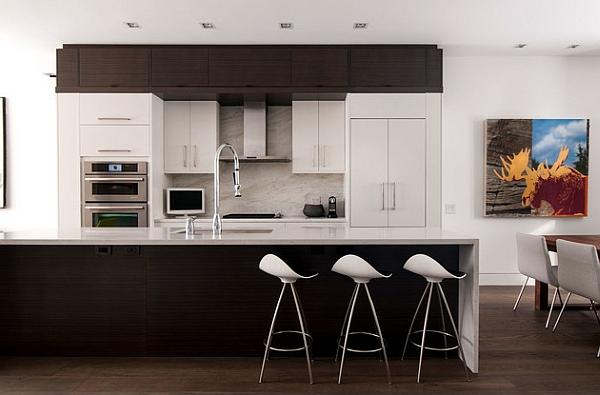 onda barhocker stilvoll küchen oberfläche