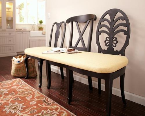 DIY Wohnideen für Ihr Zuhause küche sitzbank