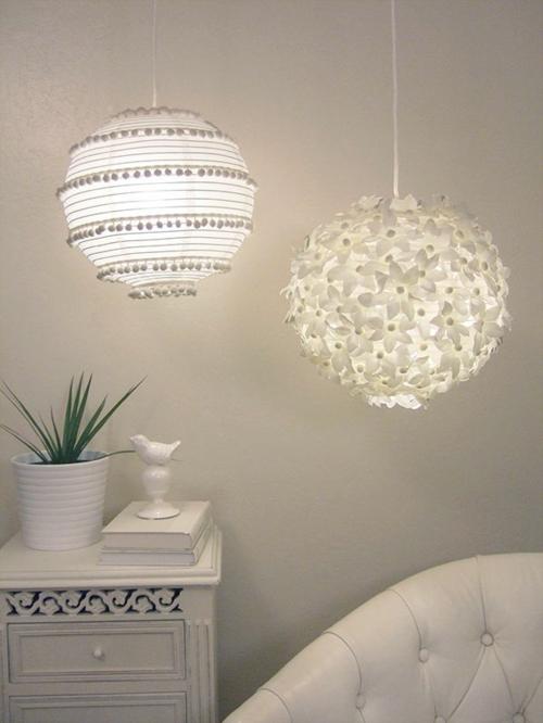 praktische DIY Wohnideen für Ihr Zuhause kugel lampe