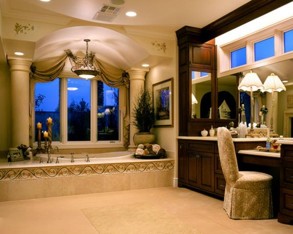 Deco Fliesen Bad : Romantisches Bad einrichten - wertvolle Tipps und Einrichtungsideen