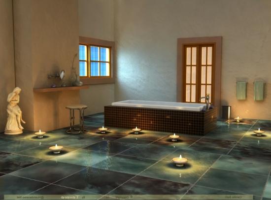 Romantisches badezimmer 25 sinnliche einrichtungsideen for Glasfliesen bad