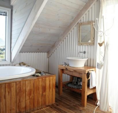 rustikales badezimmer romantisch gestalten - Bad Rustikal Gestalten