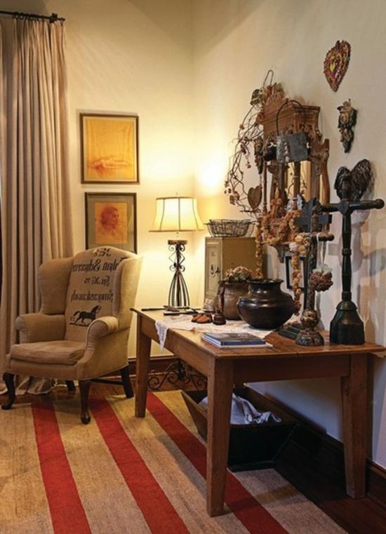 schlafzimmermöbel designer sessel und robuster tisch