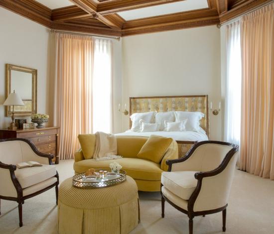 schlafzimmermöbel in jahrhundertmitte stil