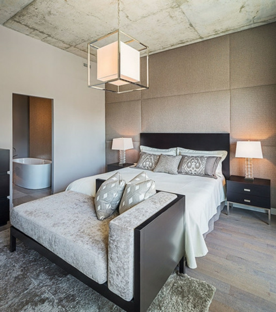schlafzimmermöbel ottomane mit samt bezogen