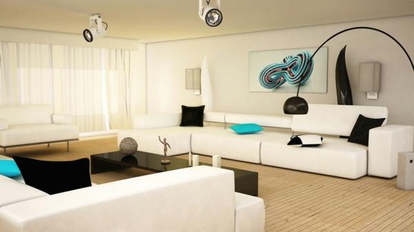 Schwarz-Weiß Einrichtungsstil - 18 schicke Ideen für Ihr Interieur