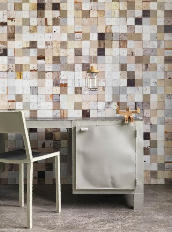 Tapeten Holzoptik Schlafzimmer : Tapeten Wohnzimmer Bilder: Wohnzimmer ? D Wandpaneele Deckenpaneele