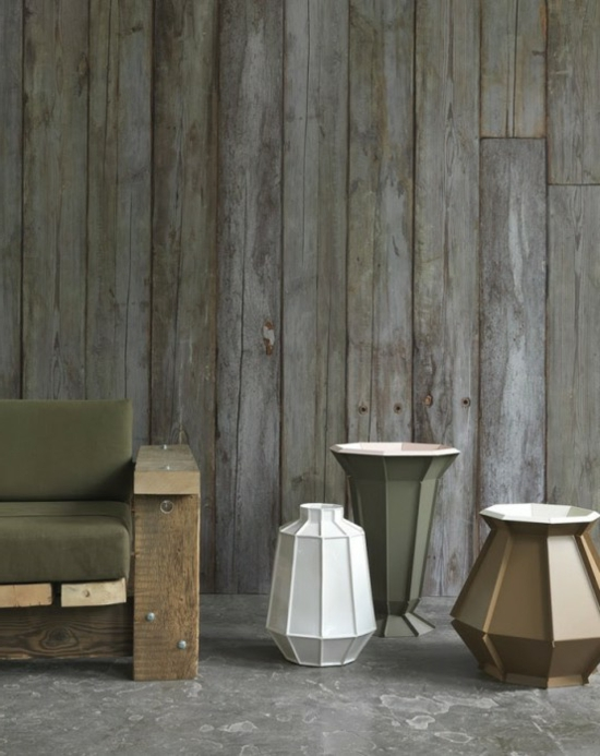 Shabby Chic Tapeten In Holzoptik Fur Ein Cooles Interieur