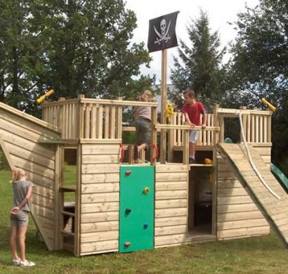 piratenschiff holz garten wohn design. Black Bedroom Furniture Sets. Home Design Ideas
