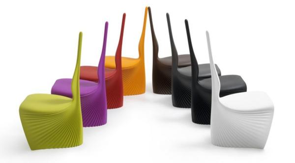stuhl design in vielen farben