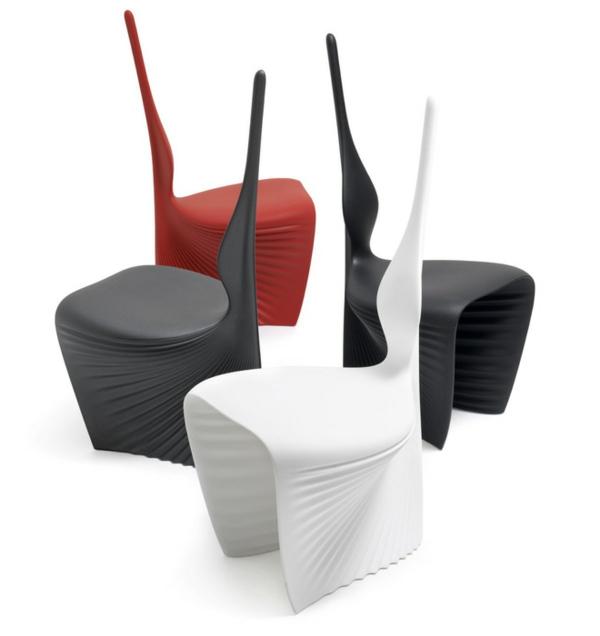 stuhl design origanische form