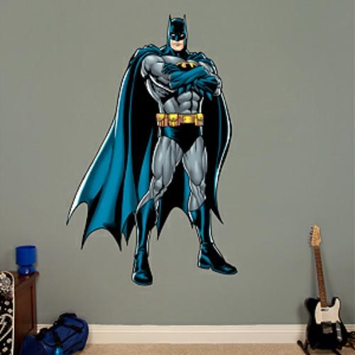 Wandtattoo superhelden prinsenvanderaa for Batman wandtattoo