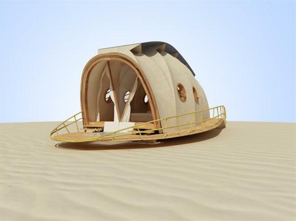 transportable häuser ausklappbar wie raupe