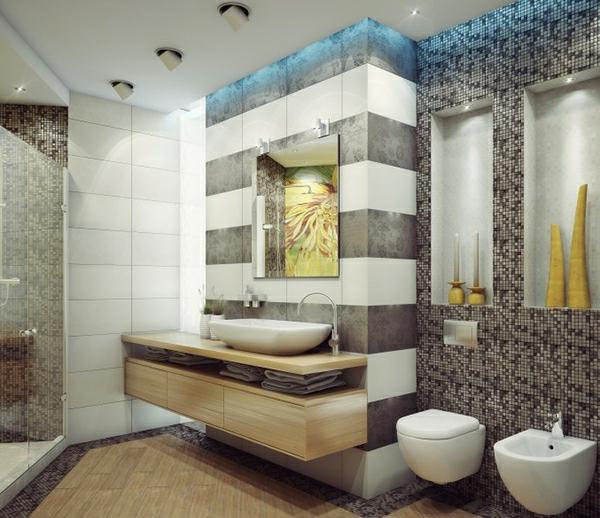 Badezimmer Mosaik Streifen ~ DiGriT.cOm for .