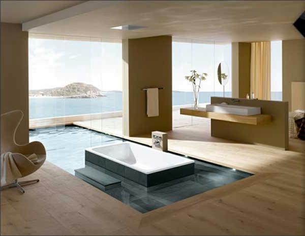 Traumbad 10 stilvolle badeirichtungsideen f r sie for Traum badezimmer