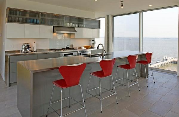 56 trendy Barhocker und Küchenhocker, die Ihre moderne Küche vollenden | {Kücheninsel mit sitzgelegenheit 94}