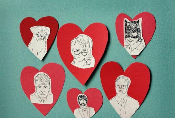 valentinstagsgeschenke herzen mit figuren