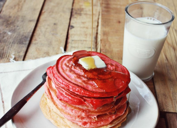 Valentinsgeschenke Pfannkuchen In Pink