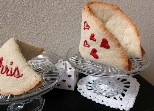 valentinstag geschenke selber machen glückskekse