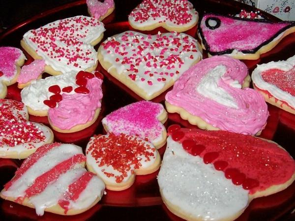 valentinstag plätzchen in herzform