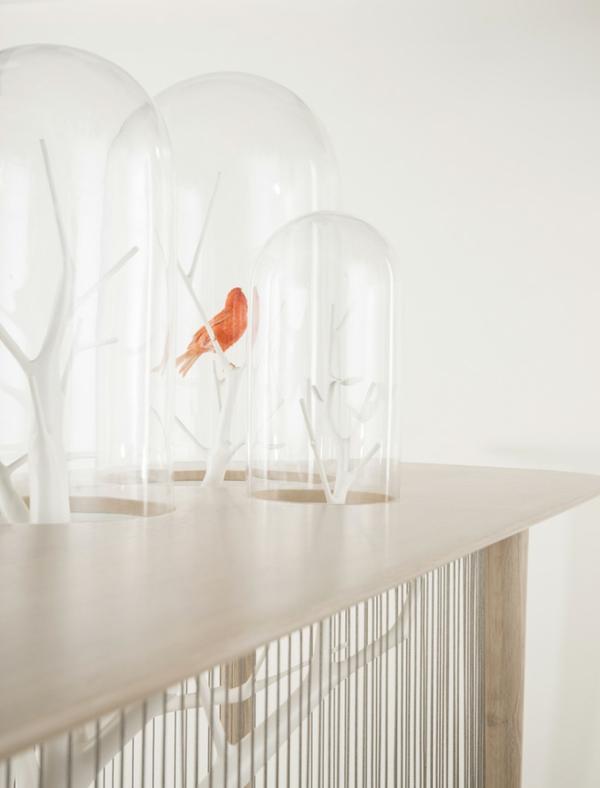 vogelkäfig dekorativ und echt