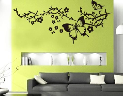 Moderne Wandtattoo Muster Für Ihre Schicke Wanddekoration ...