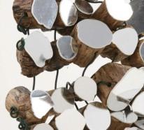 Wandteppich aus kleinen Spiegeln von Lee Borthwick