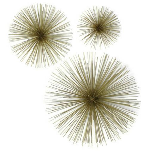 wohnaccessoires schneekristalle aus messing