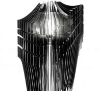 zaha hadid und ihre einzigartigen pendelleuchten aria und avia. Black Bedroom Furniture Sets. Home Design Ideas