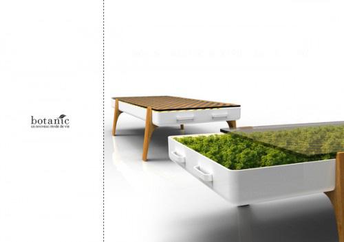 zimmerpflanzen möbel in hydrokultur tisch schubladen